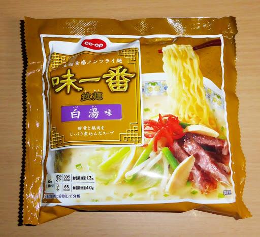 【coop・コープ】(ユタカフーズ株式会社)味一番 拉麺(らーめん)白湯(パイタン)味