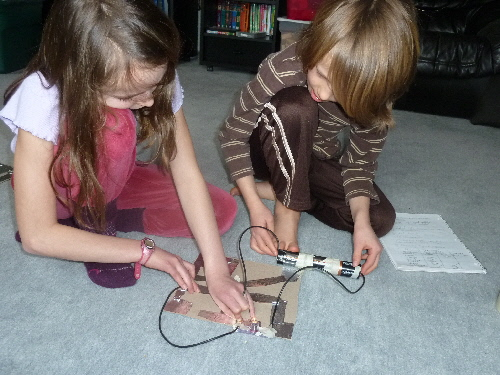 Highhill Homeschool Make Your Own Electrical Switch