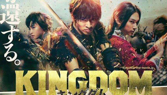 Film Live-Action Kingdom Menghasilkan 690 Juta Yen di minggu Pembukaan