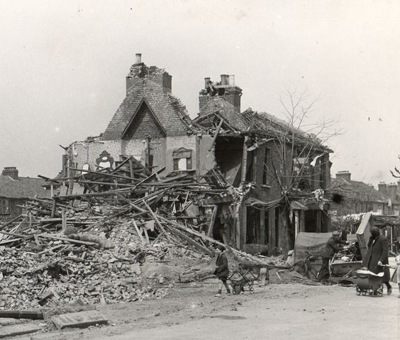 19 April 1941 worldwartwo.filminspector.com East Ham London Blitz damage