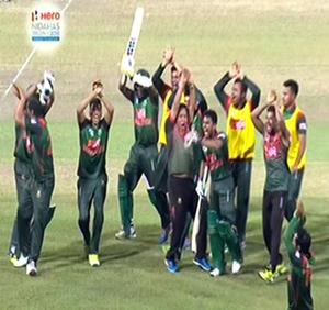 Sri Lanka loses to Bangla Desh ....  deprived of Finals