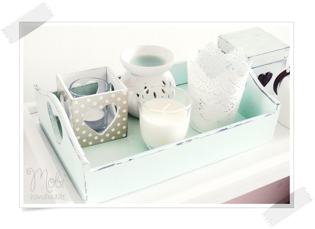 decoupage, DIY, home decor, taca, tutorial,