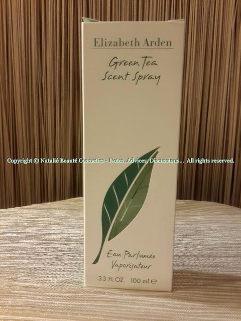 GREEN TEA by ELIZABETH ARDEN PERSONAL PERFUME REVIEW AND PHOTOS NATALIE BEAUTE