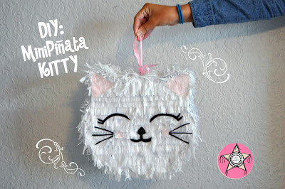 diy kitty pinanta