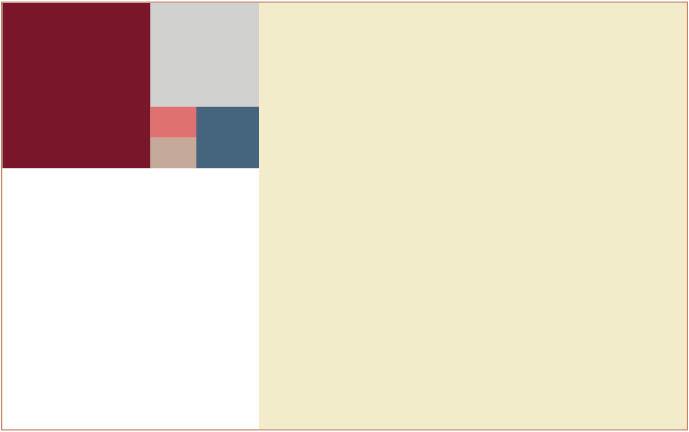 Proyecto decorativo paleta de color