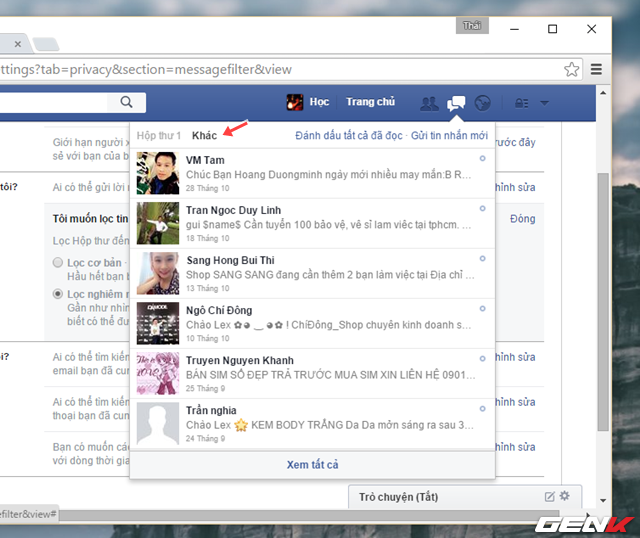 Ngăn người lạ tự thêm bạn vào nhóm chat trên Facebook
