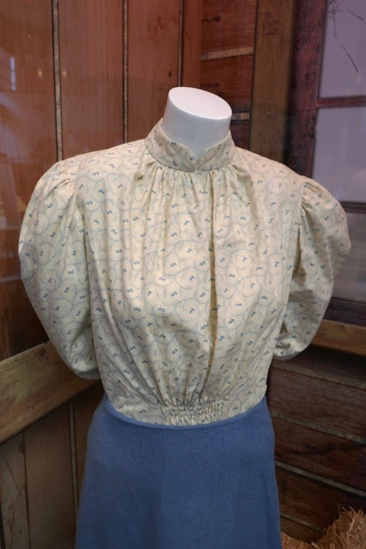 Chloë Sevigny Lizzie Borden costume detail