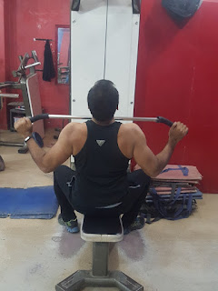 wide grip lateral pull down