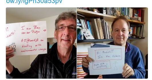 Ken & Ben on Climate & Engineering - A Reddit AMA