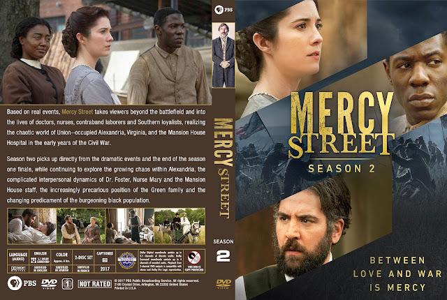 Mercy Street Season 2 DVD Cover