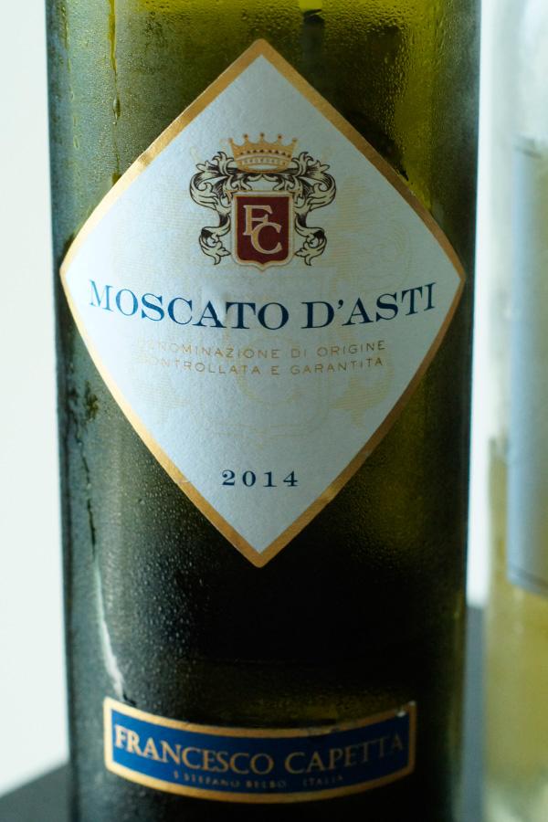 Kết quả hình ảnh cho moscato d'asti francesco capetta