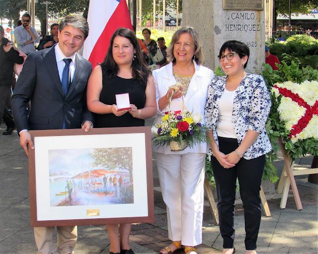 Periodista del Austral de Valdivia premiada en el Día de la Prensa