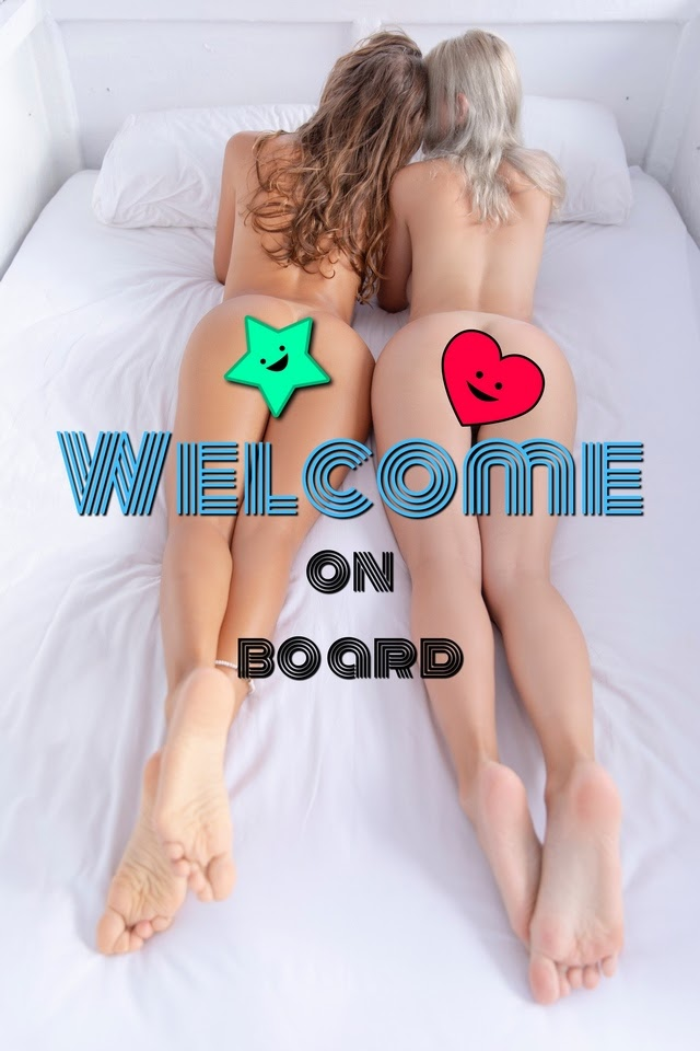 [KatyaClover.Com] Katya Clover,  Eva Elfie - Welcome On Board