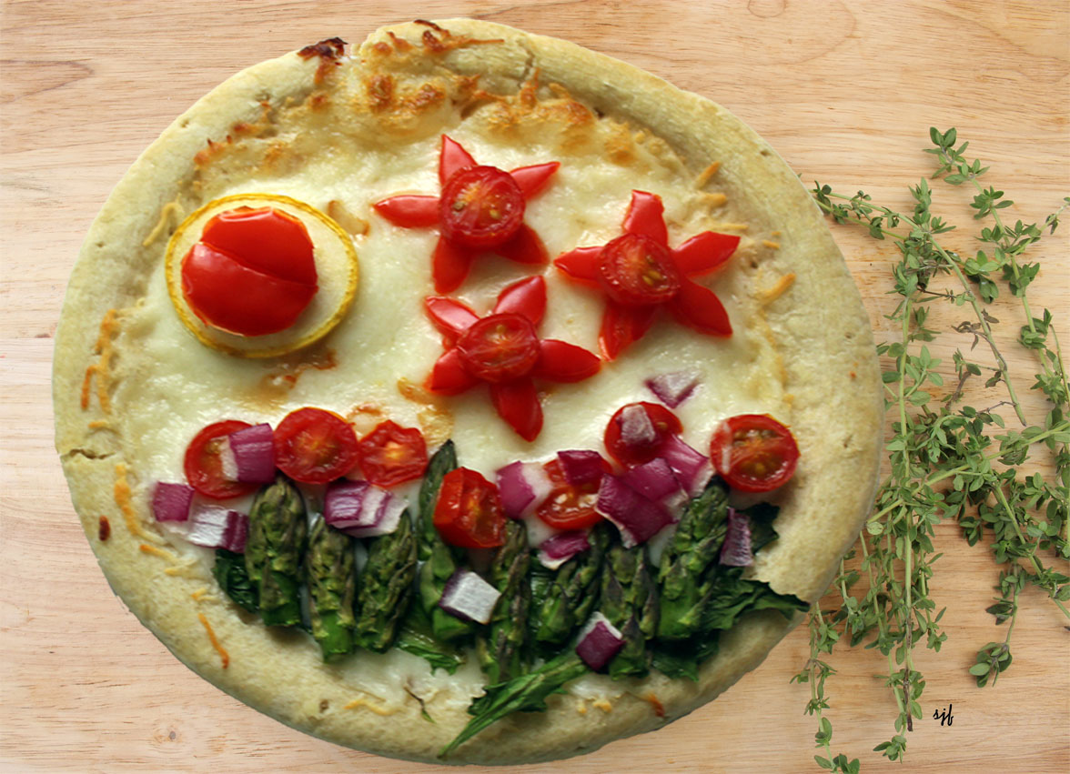 Dietitians Online Blog: National Pizza Day - Garden Pizza