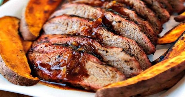 Chili-Orange Glazed Pork Tenderloin Recipe
