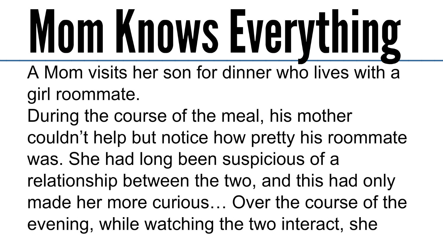 Mother Knows Everything Quotes