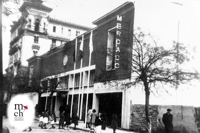 Mercado de Chamberí 1943