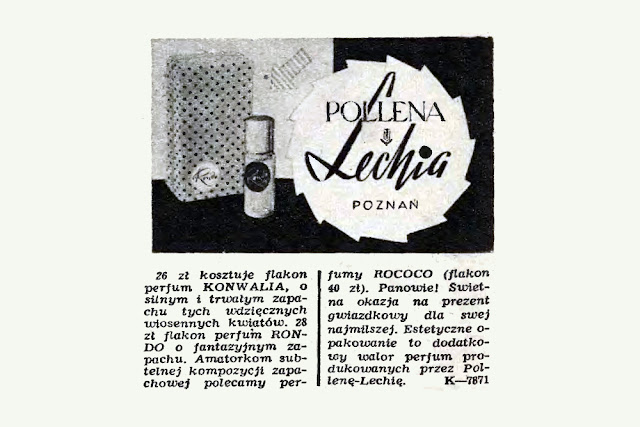 Reklama prasowa, 1970