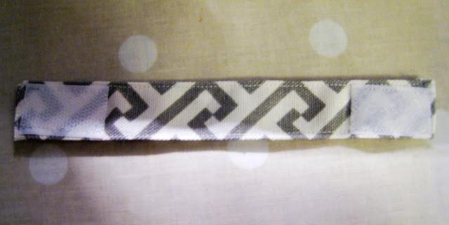 Velcro seat cushion tie/fastening