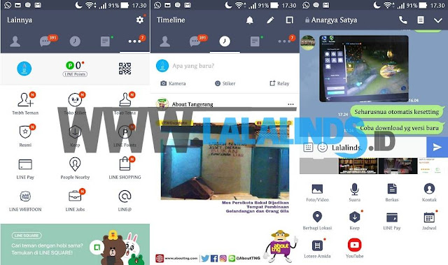 Download Aplikasi LINE 7.11.2 Android Terbaru APKv