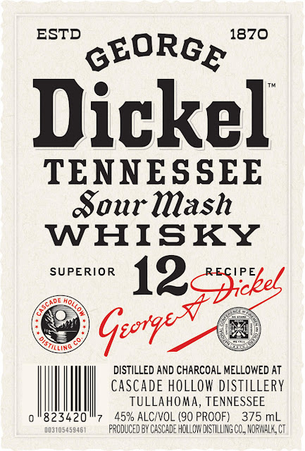 George Dickel Sour Mash Whiskey 12