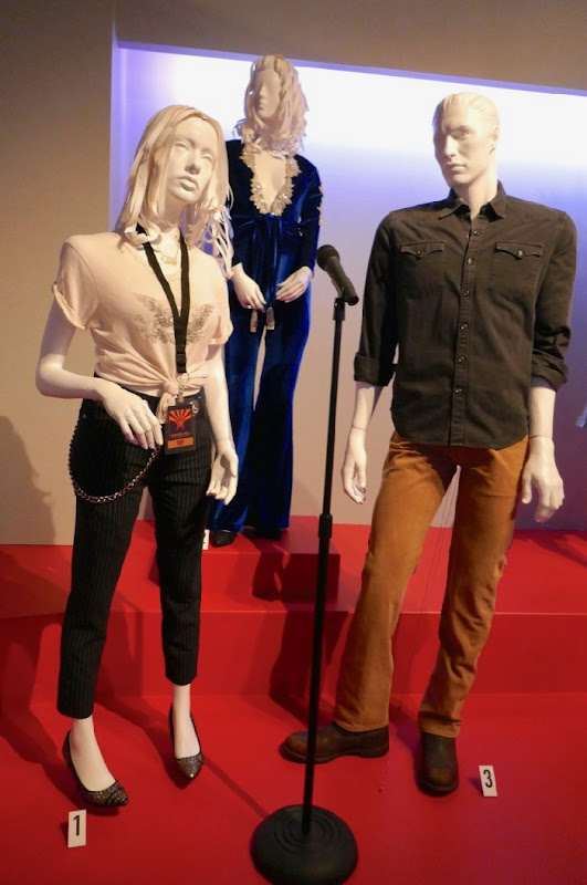 A Star Is Born movie costume exhibit