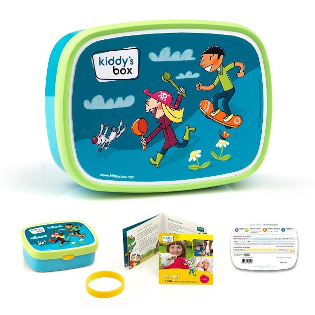 Kiddy´s Box #tiempoenfamilia Sorteo Blog infantil Mama de Noa