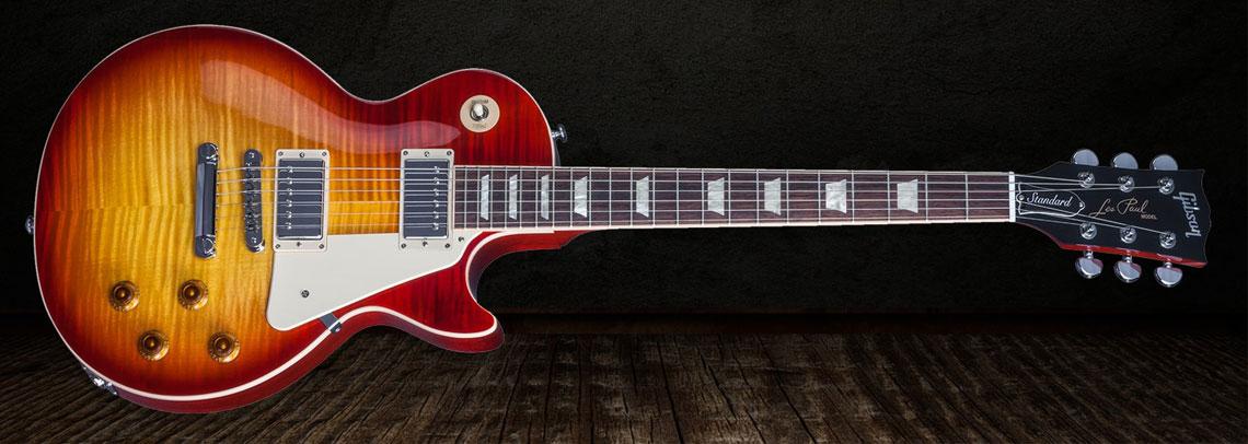 Gibson Les Paul vs. Fender Stratocaster Gibson-les-paul-gitaar