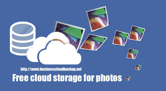 Free cloud storage for photos