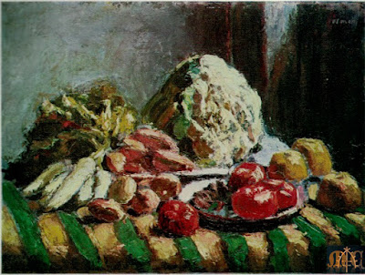 P3 Still life with Vegetables by Roderic O'Conor