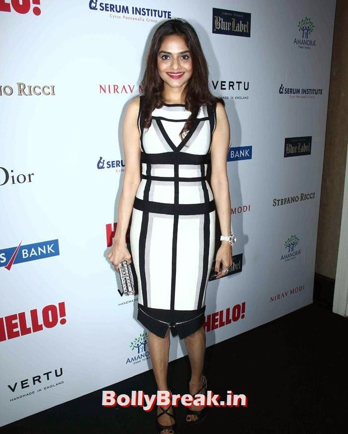 Madhoo Shah, Hello! Hall of Fame Awards 2014