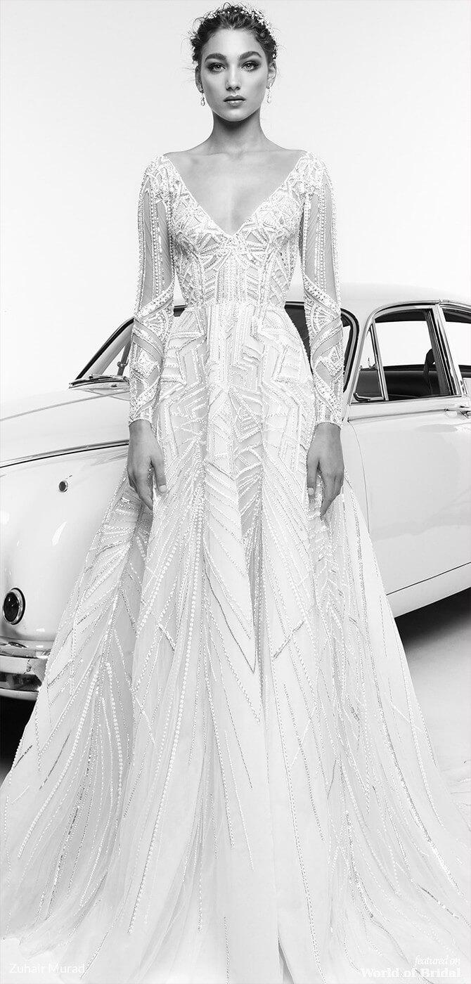 d1f73477f1b Zuhair Murad Spring 2019 Wedding Dresses World Of Bridal