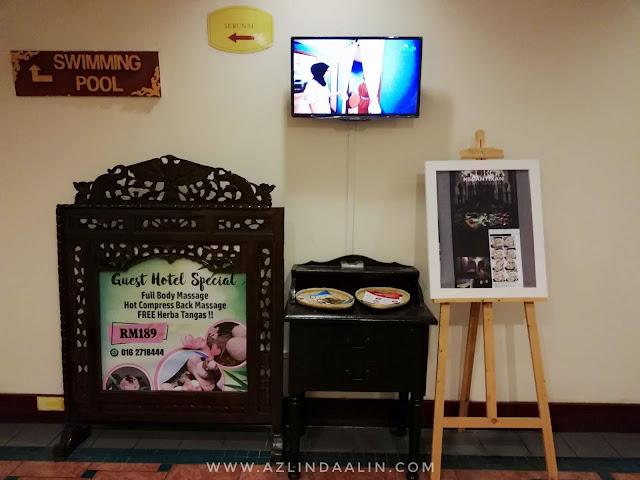 PENGALAMAN MEMANJAKAN DIRI DI BAYU SPA HOTEL GRAND BLUEWAVE SHAH ALAM