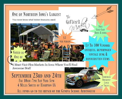 The Geneva Market, Friday, September 23rd and Saturday, September 24th