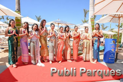 Songkran Festival en Siam Park