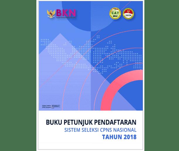 Buku Petunjuk Pendaftaran SSCN 2018 Versi 2