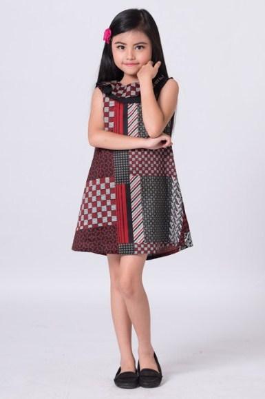 24 Model Baju Batik Anak Aneka Desain Terbaru Yang Modern