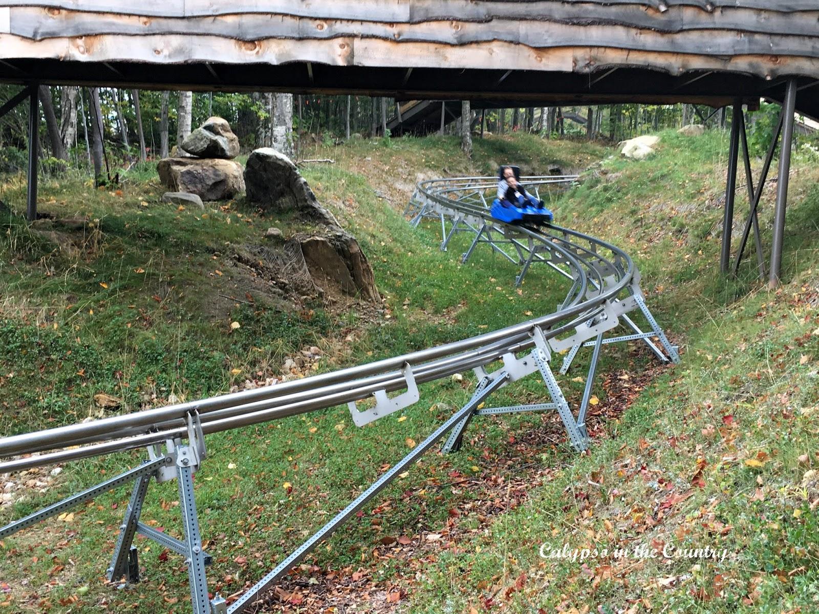 Beast Rollercoaster in Killingon Vermont