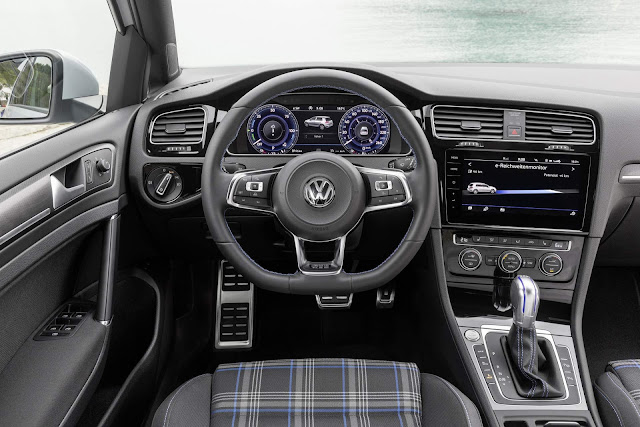 Volkswagen Golf GTE 2018 - interior