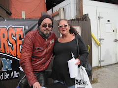 "Listener Nancy with ""Chibs"" @ Bike Week 2011"