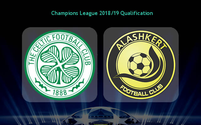 Celtic vs Alashkert Full Match Replay 18 July 2018