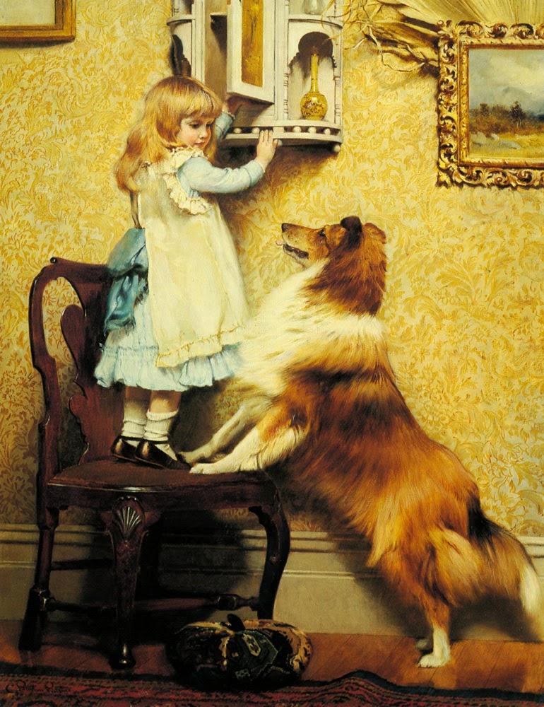 Lugar Secreto - Charles Burton Barber ~ Um dos pintores mais incríveis da Inglaterra