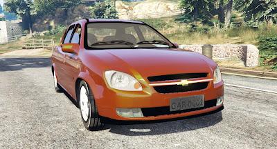 Chevrolet Classic para GTA 5 Frente