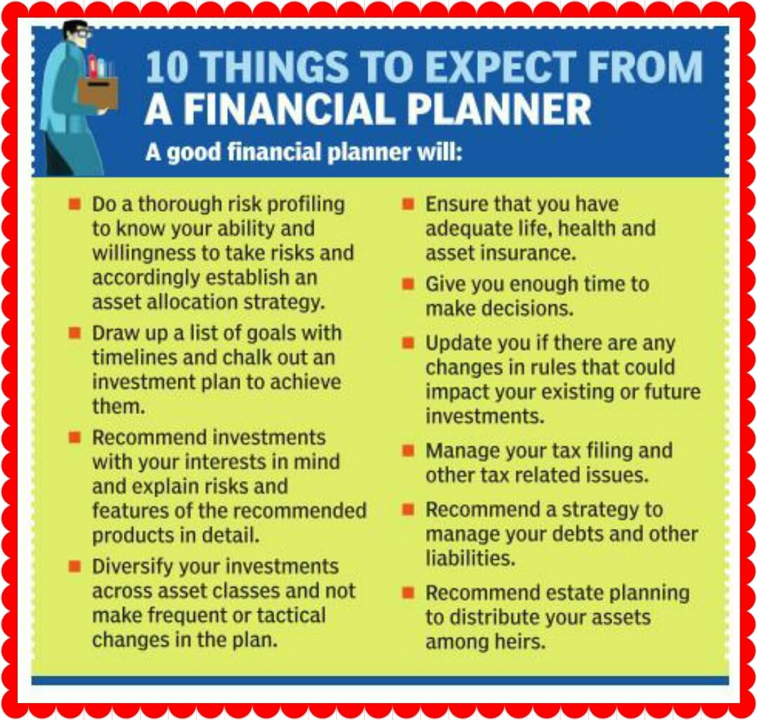 10 Things Financial Planner Should Help You Achieve   Indian