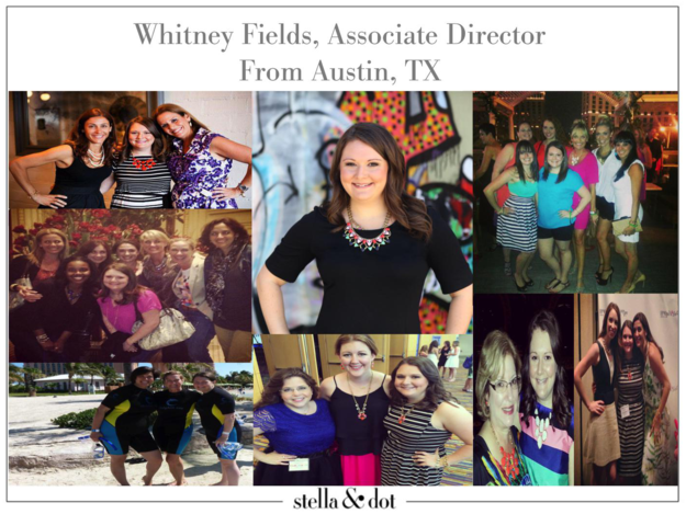 Whitney Fields, Associate Director and Stylist for Stella & Dot