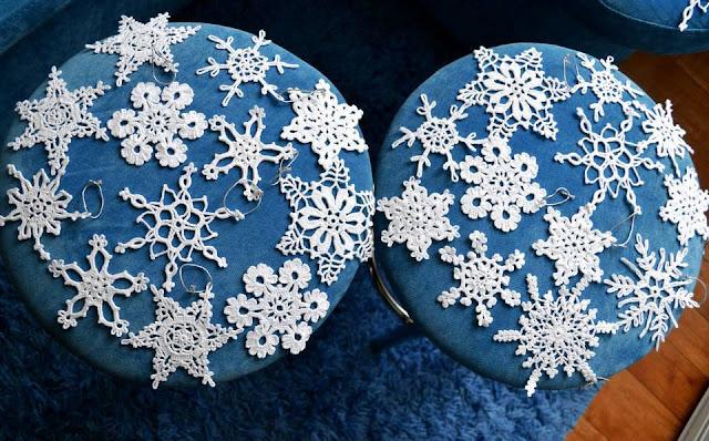 choinkowe dekoracje szydelkiem wzory