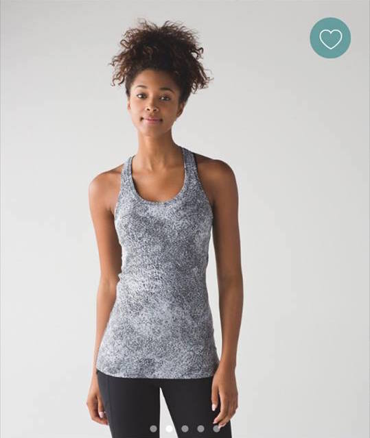 lululemon spray-jacquard cool-racerback-ii