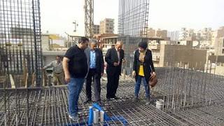 عبدالغني يتابع استكمال بناء مجمع المصالح بمركز ملوى بالمنيا