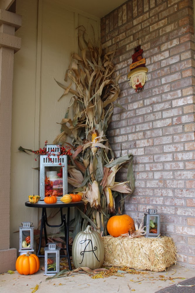 All My Great Ideas Are Really From Pinterest Fall Porch Decorations