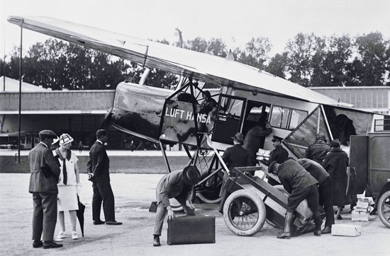 Lufthansa, first flight, April 6, 1926